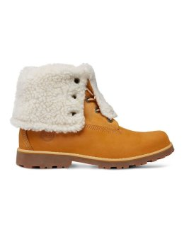 Timberland sneaker Authentics 6Waterproof Faux Shearling bruin