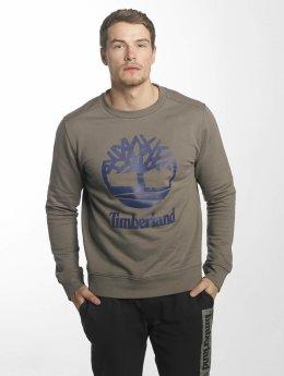 Timberland Sweat & Pull Stacked Logo brun