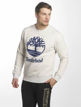 Timberland Sweat & Pull Stacked Logo gris