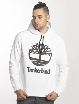 Timberland Sweat capuche Stacked blanc