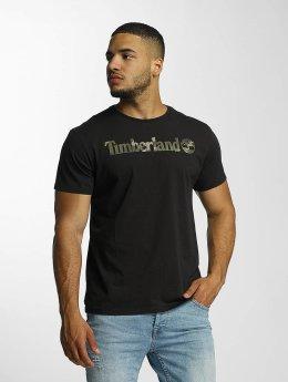 Timberland T-paidat Dustan River Camo Print Brand musta