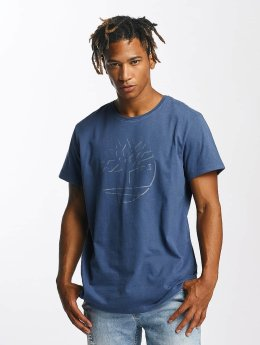 Timberland Dead River Brushed Reflective Brand T-Shirt Blue