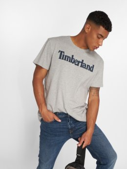 Timberland t-shirt Kennebec River Brand Regular grijs