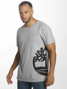 Timberland T-Shirt Multigraphic gris