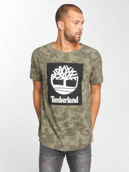 Timberland T-shirt Camo Logo mimetico