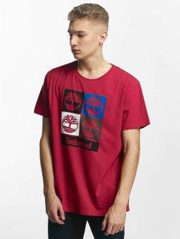 Timberland T-Shirt 90'S Logo rot