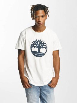 Timberland t-shirt Kennebec wit