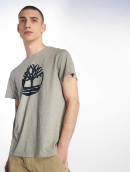Timberland T-shirts Kennebec River Brand Regular grå