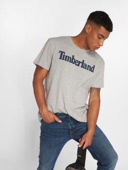 Timberland Tričká Kennebec River Brand Regular šedá