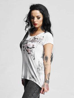 trueprodigy T-shirt Floral Dream bianco