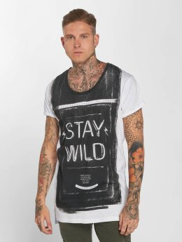 trueprodigy T-Shirt Stay Wild blanc
