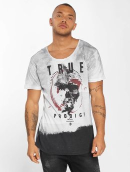 trueprodigy T-Shirt To Late To Pray  gris