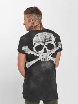 trueprodigy T-Shirt Skeletor gris