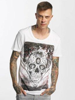 trueprodigy T-Shirt Skull weiß
