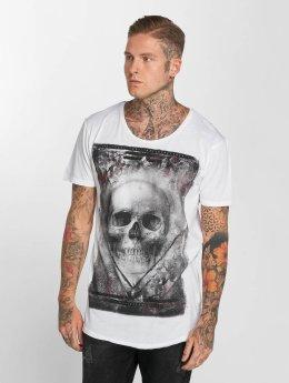 trueprodigy Tričká True Skull biela