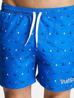 TrueSpin Kúpacie šortky Underwater Print  modrá