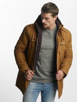 TrueSpin Manteau hiver Fishtail brun