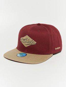 TrueSpin snapback cap Ace rood