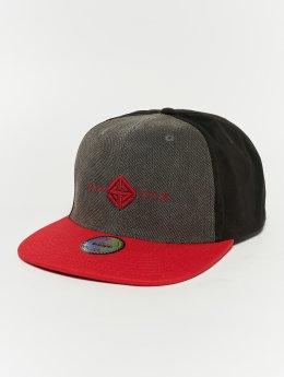 TrueSpin Code-3 Snapback Cap Black/Dark Grey/Rust