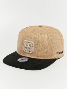 TrueSpin Snapback Caps Kekino  béžový
