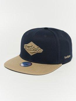 TrueSpin Snapback Caps Ace blå
