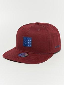 TrueSpin Snapback Caps Flick czerwony