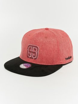 TrueSpin Snapback Caps Kekino czerwony