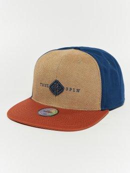 TrueSpin Snapback Caps Code-3 modrý