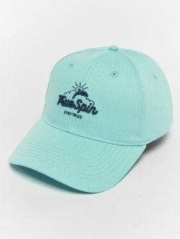 TrueSpin Dolphins Snapback Cap Sky Blue