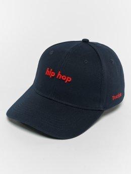 TrueSpin Curved Hip Hop Snapback Cap Navy