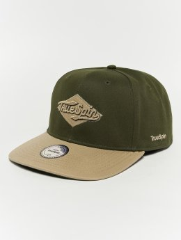 TrueSpin Snapback Caps Ace oliwkowy