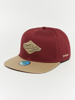 TrueSpin Snapback Caps Ace red