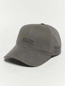 TrueSpin Snapback Caps College  szary
