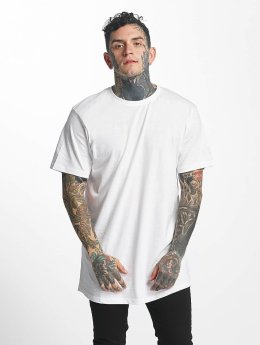 Tuffskull T-shirt long oversize nothing blanc
