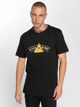 TurnUP T-Shirt Crust schwarz