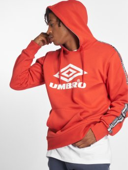 Umbro Hoodie Taped OH red