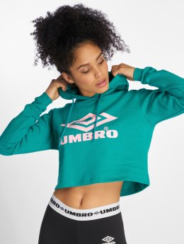 Umbro Hoodie Cropped OH turkos