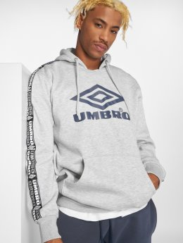Umbro Hoodies Taped OH šedá