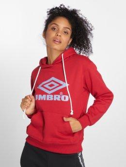 Umbro Hoody Logo rood
