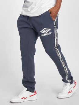 Umbro joggingbroek Taped Tapered Fit blauw
