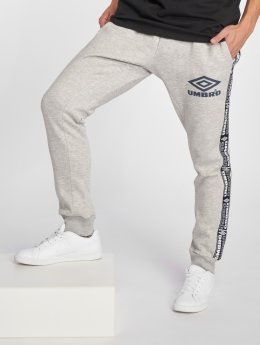 Umbro Taped Tapered Fit Sweatpants Grey Marl