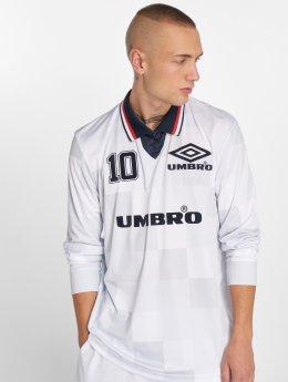 Umbro Pitkähihaiset paidat Monaco LS Football valkoinen