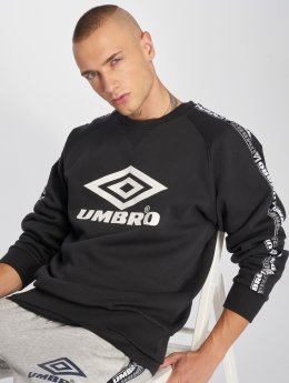 Umbro Pullover Taped schwarz
