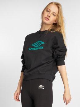 Umbro Pullover Logo schwarz