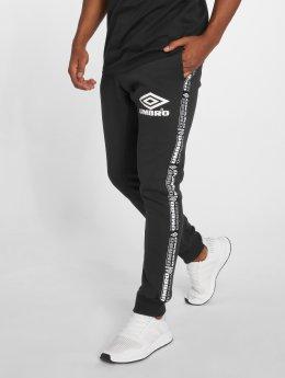 Umbro Spodnie do joggingu Taped czarny