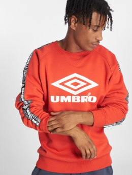 Umbro Sweat & Pull Taped Crew rouge