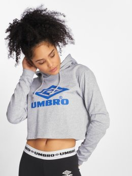 Umbro Sweat capuche Cropped OH gris