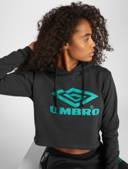 Umbro Sweat capuche Cropped OH noir