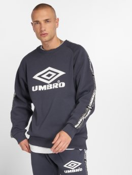 Umbro Swetry Taped Crew niebieski