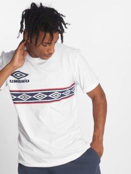 Umbro T-Shirt Templar Crew blanc